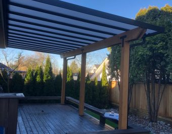Glass Canopy Vancouver at Element Comfort Solutions