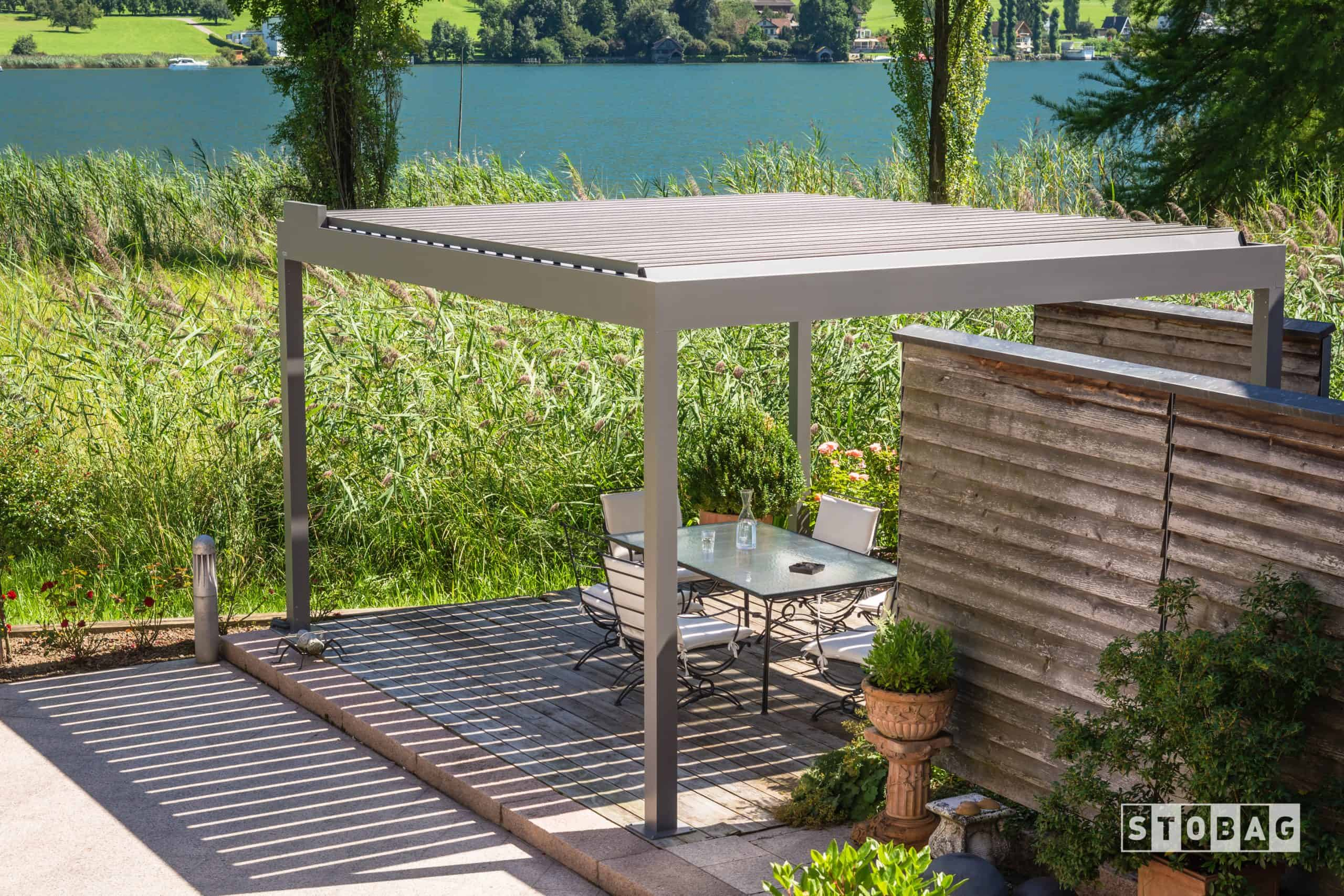 Louvered Roof System for deck and patio from Element Comfort Solutions Vancouver